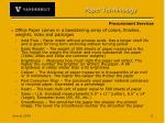 paper terminology