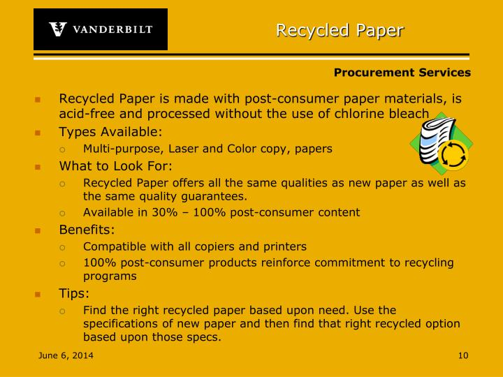 Recycled Paper