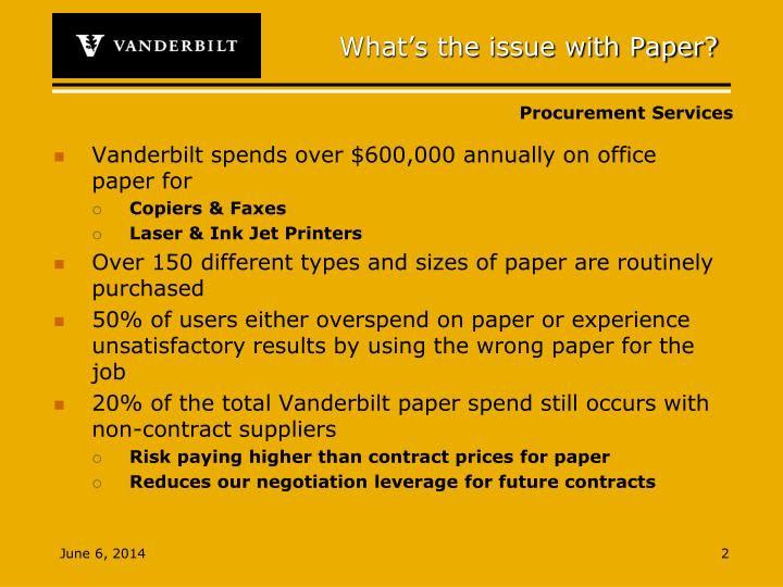 What's the issue with Paper?