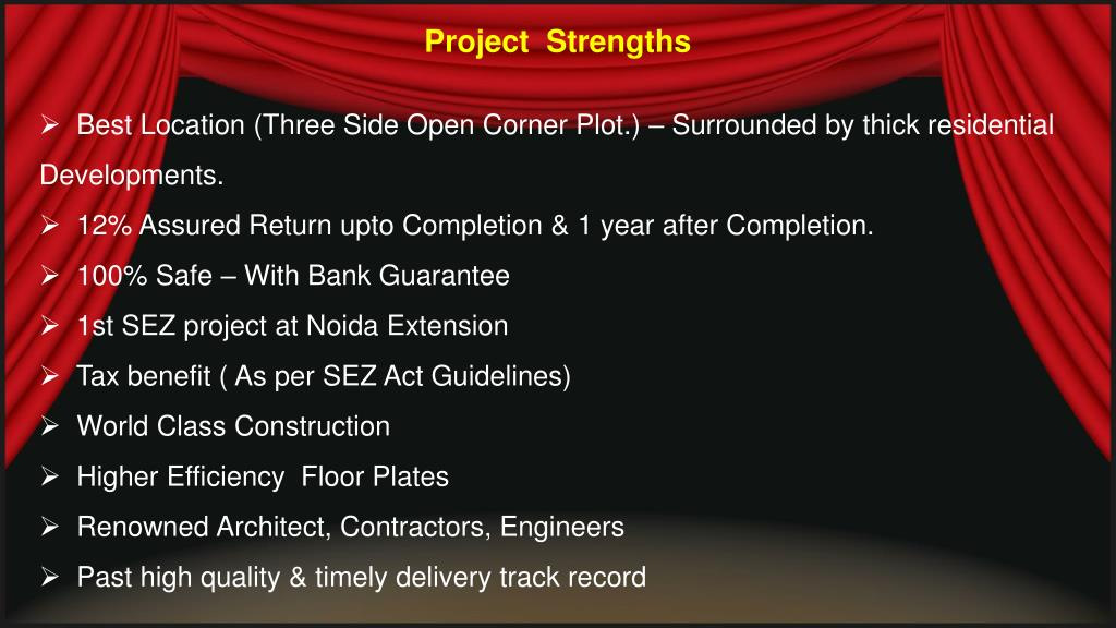 Project  Strengths