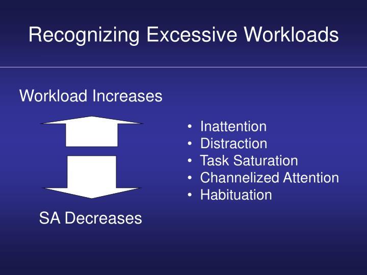 Recognizing Excessive Workloads