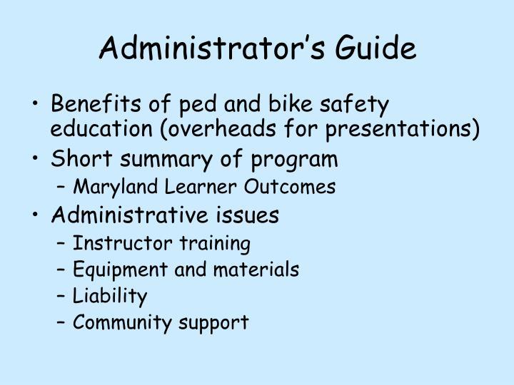 Administrator's Guide