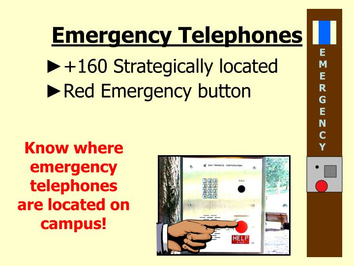 Emergency Telephones