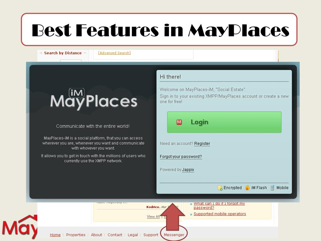 Best Features in MayPlaces