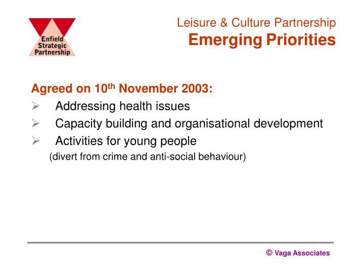 Leisure & Culture Partnership
