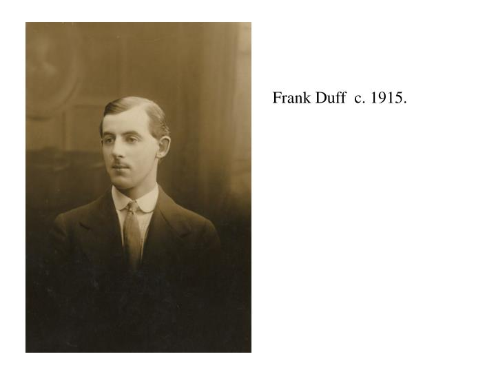 Frank Duff  c. 19
