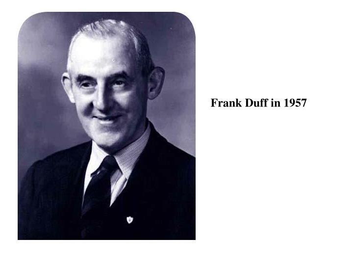 Frank Duff in 1957