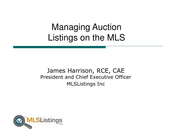 Managing Auction