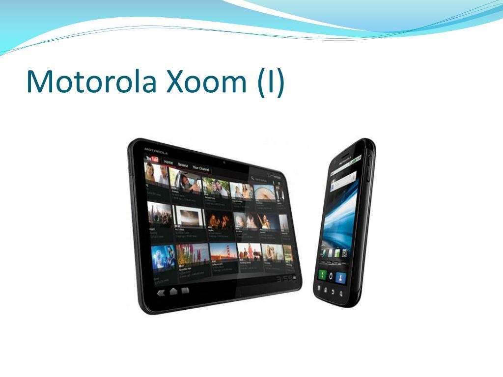 Motorola Xoom (I)