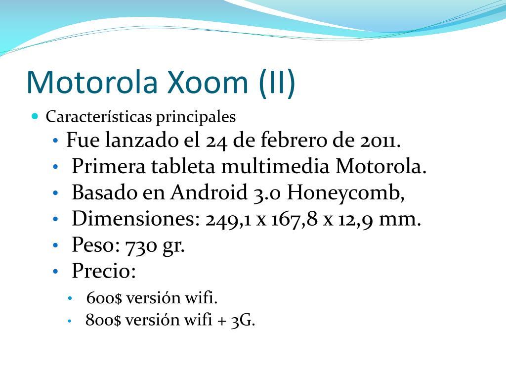 Motorola Xoom (II)