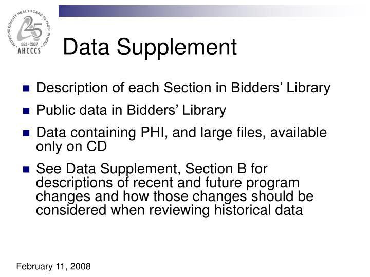 Data Supplement