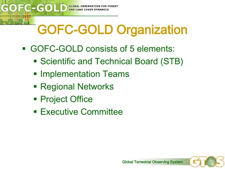 GOFC-GOLD Organization