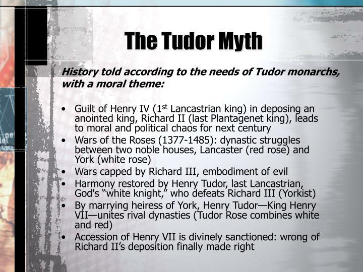 The Tudor Myth