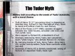 the tudor myth1