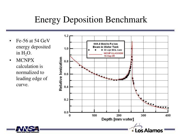 Energy Deposition Benchmark