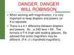 danger danger will robinson