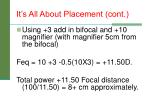it s all about placement cont2