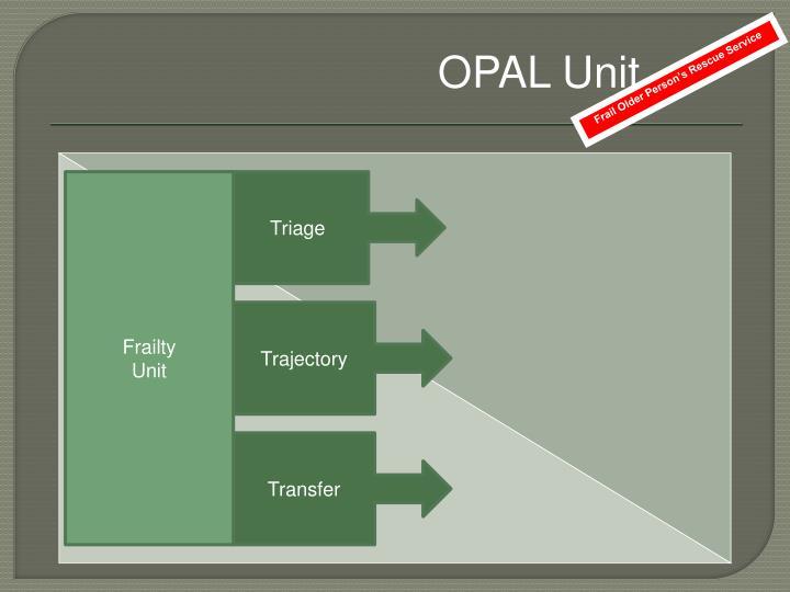 OPAL Unit
