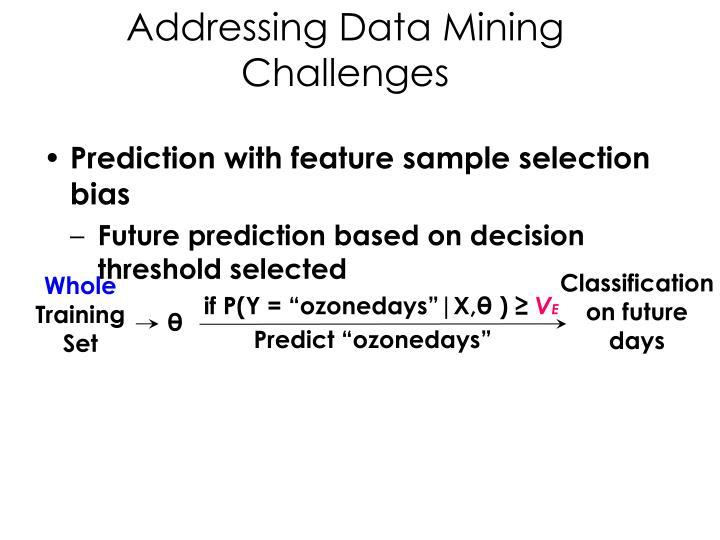 Classification on future days
