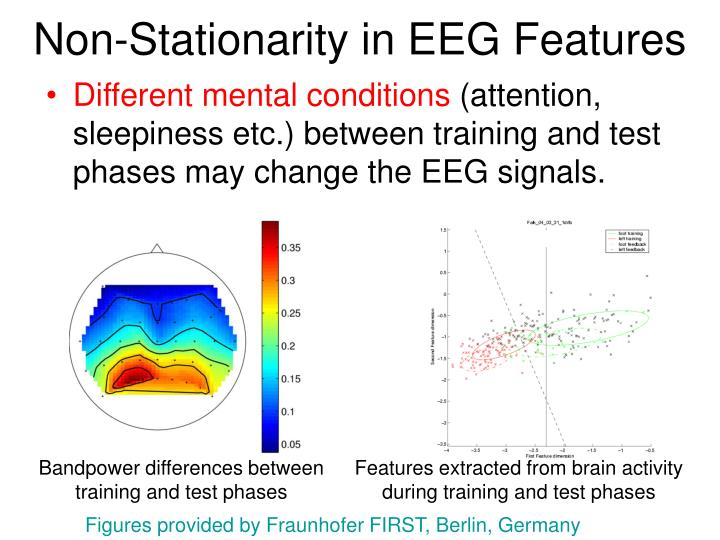 Non-Stationarity in EEG Features
