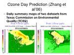 ozone day prediction zhang et al 06