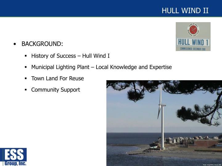 HULL WIND II