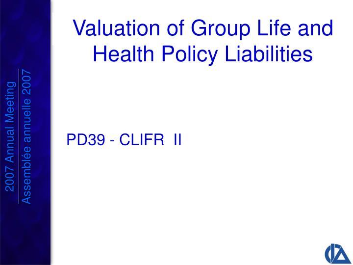 PD39 - CLIFR  II