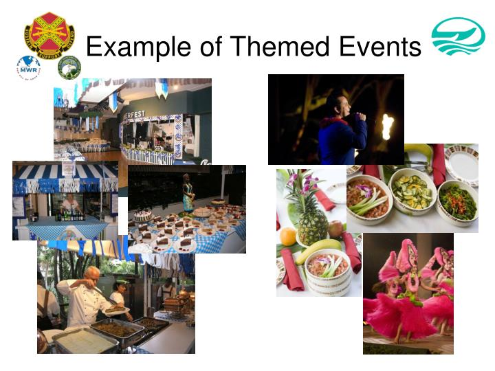 Example of Themed Events