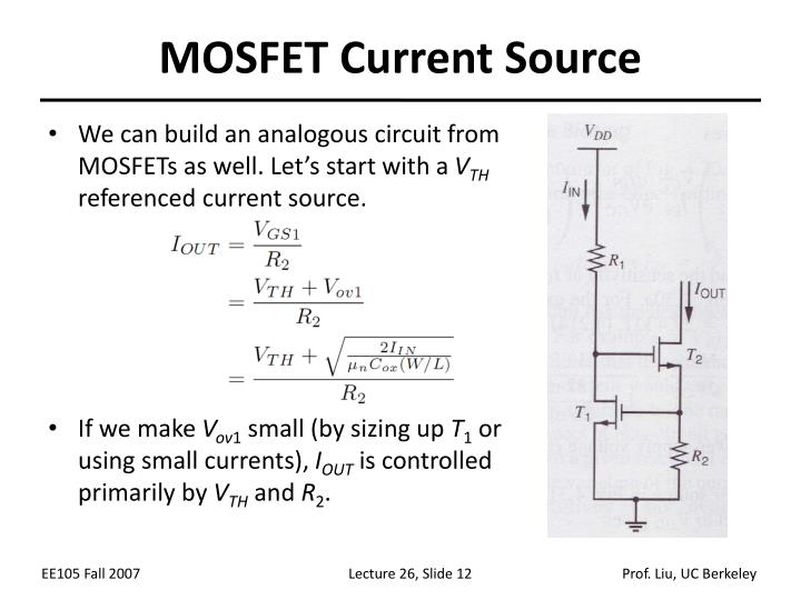 MOSFET Current Source