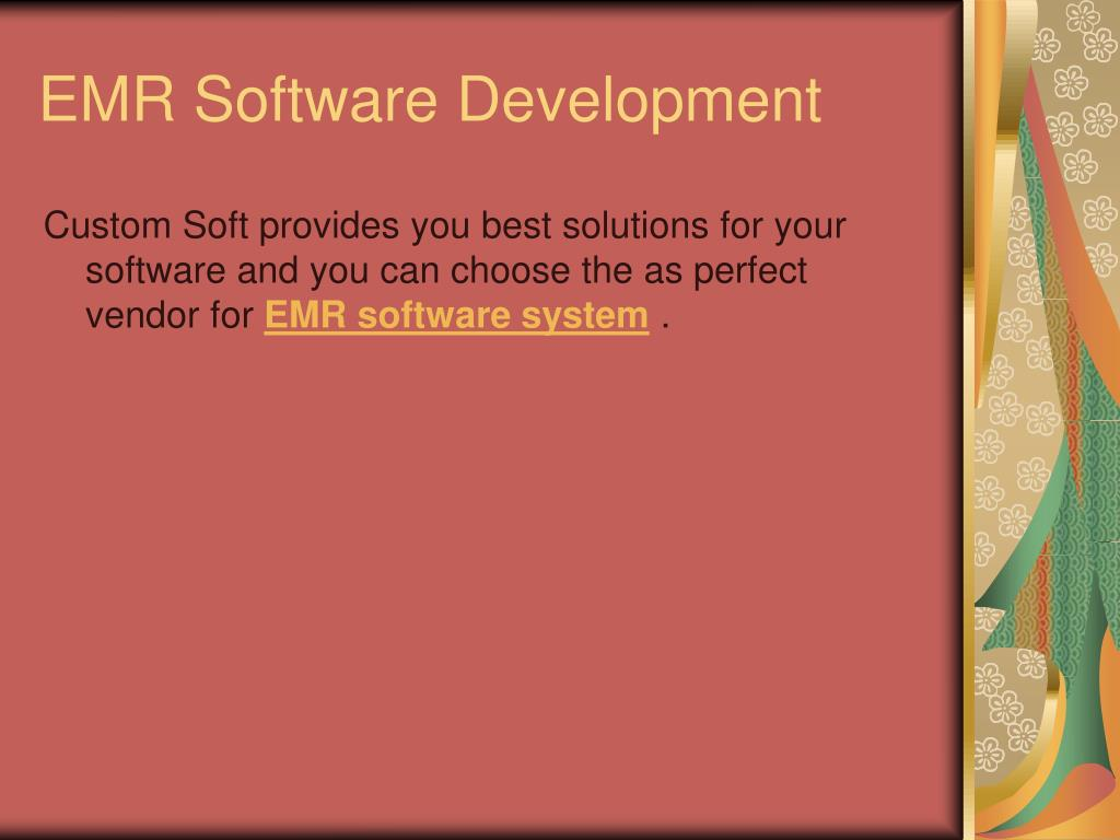 EMR Software Development