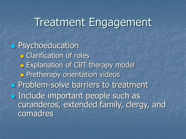 Treatment Engagement