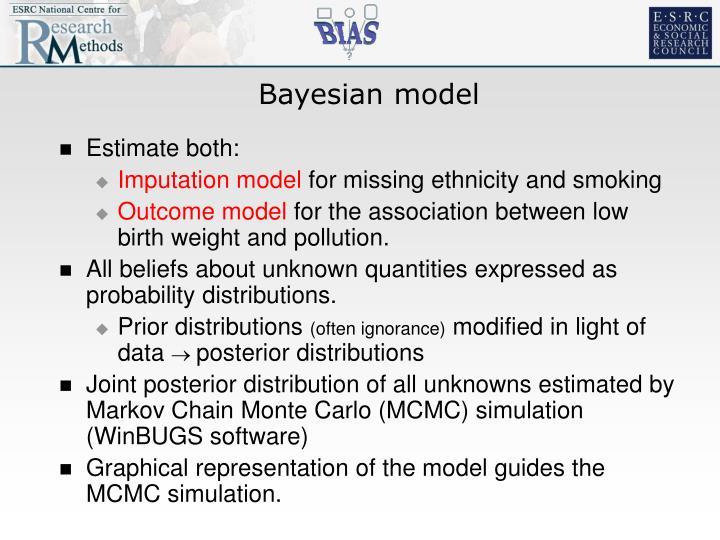 Bayesian model