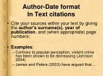 author date format in text citations