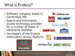 what is endeca