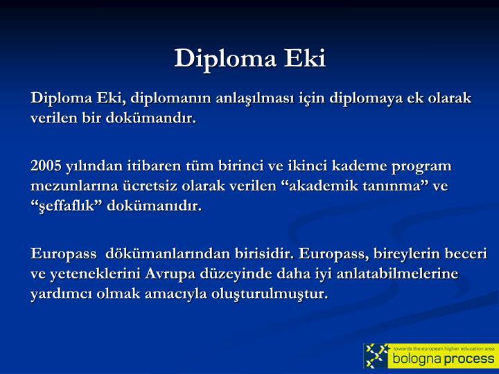 Diploma Eki