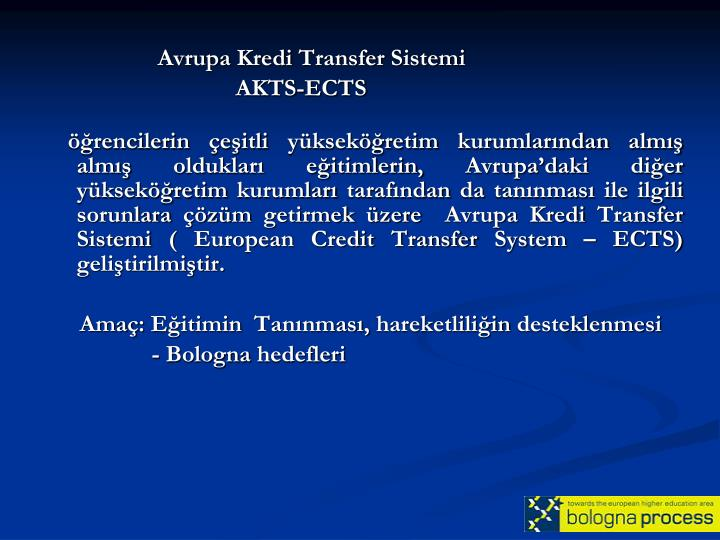 Avrupa Kredi Transfer Sistemi