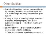 other studies1
