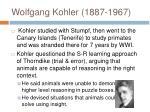 wolfgang kohler 1887 1967