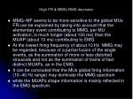 high fr mmg rms decrease