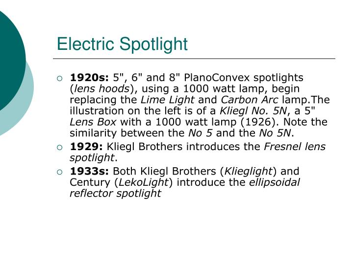 Electric Spotlight