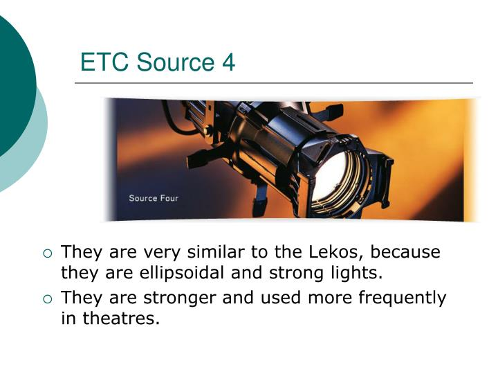 ETC Source 4