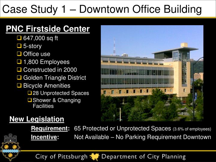 Case Study 1 – Downtown Office Building