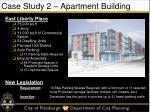 case study 2 apartment building