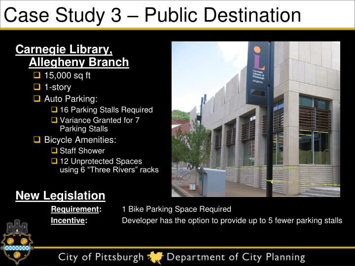Case Study 3 – Public Destination