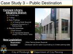 case study 3 public destination