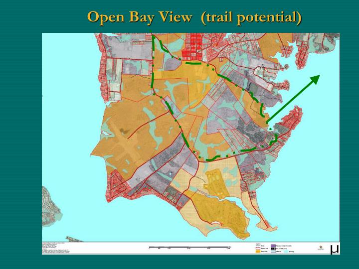 Open Bay View  (trail potential)