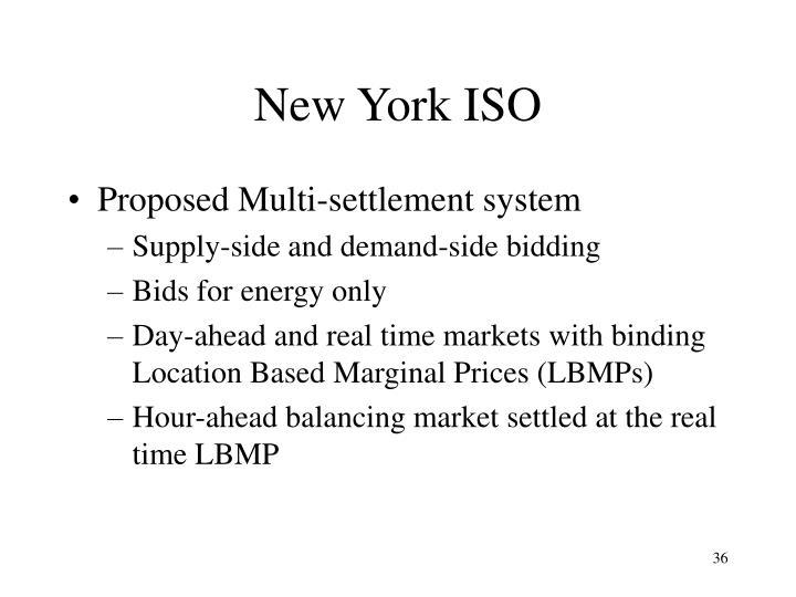 New York ISO