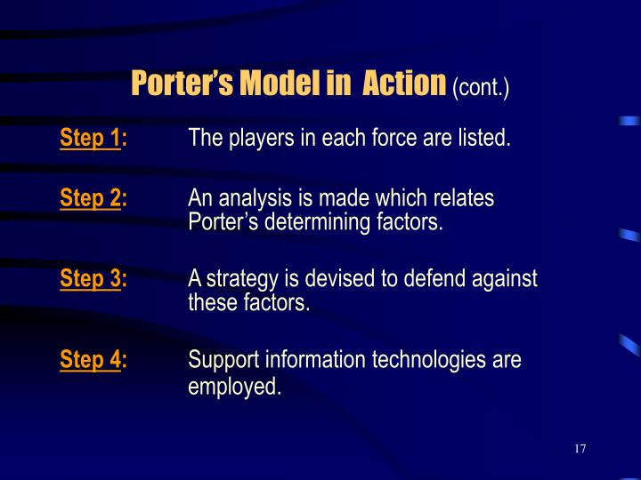 daimler chrysler porter five forces model Porter's five forces analytical framework developed by michael porter (1979) represents five individual forces that shape the overall extent of competition in the industry these forces are represented in figure 1 below you can learn the theory of porter's five forces analysis here.