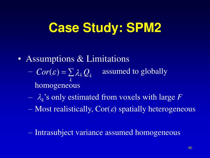 Case Study: SPM2