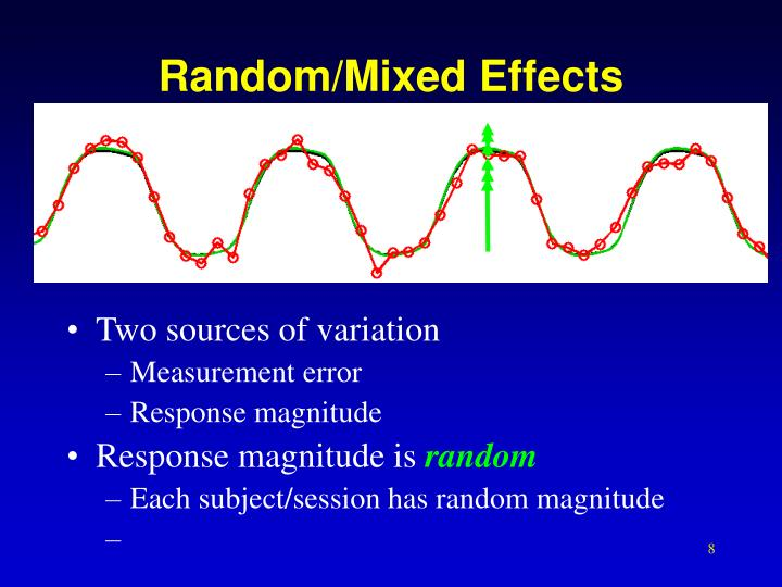 Random/Mixed Effects